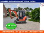 Minigraver-Kubota-KX61-3-bouwjaar-2014