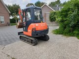 Minigraver Kubota KX61-3 bouwjaar 2014_3