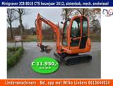 Minigraver JCB 8018 CTS bouwjaar 2012_3