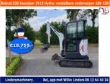 Bobcat E20 bouwjaar 2015 Hydr. verstelbare onderwagen 100-130_3