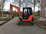 Minigraver Kubota KX61-3 bouwjaar 2015_3