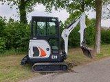 VERKOCHT Minigraver Bobcat E19 bouwjaar 2015_3