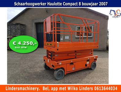 Schaarhoogwerker Haulotte Compact 8 bj 2007