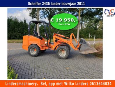 Schaffer 2436 loader bouwjaar 2011