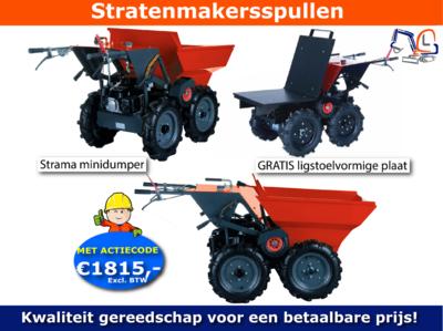 Minidumper Strama HTL350 Nu actie prijs