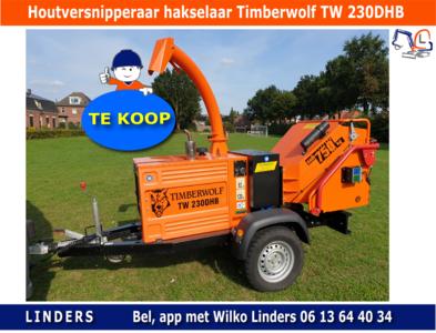 Houtversnipperaar hakselaar Timberwolf TW 230DHB