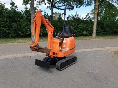 JCB 8008 CTS bouwjaar 2012