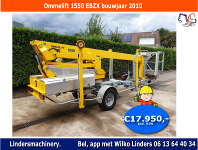 Ommelift 1550 EBZX bouwjaar 2010