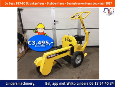 Jo Beau B13-90 Stronkenfrees - Stobbenfrees - Boomstronkenfrees